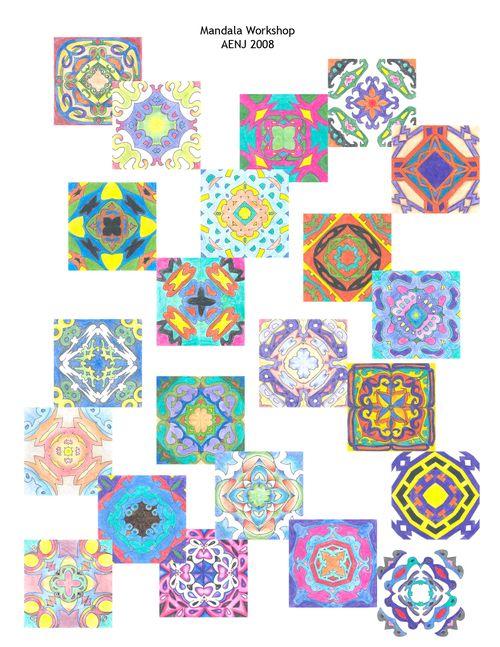 Mandala layout